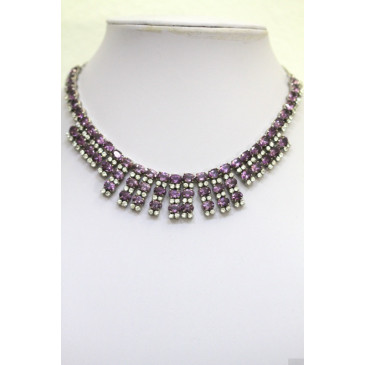 Jarin Amethyst Necklace