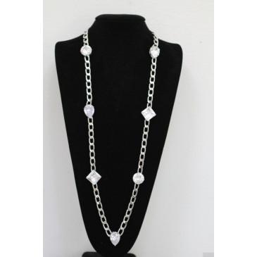 10 Carat CZ Chain Necklace