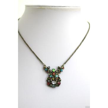 Hollycraft Pastel Pendant Necklace