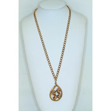 Tortolani Gemini Pendant Necklace