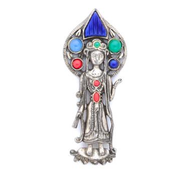 Art Deco Princess Pin
