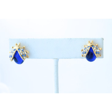 Vintage Ladybug Earrings