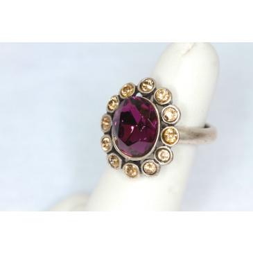 Hobe Amethyst Ring