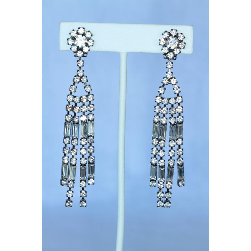 Kenneth jay lane art deco chandelier clip earrings kenneth jay lane art deco crystal chandelier clip earrings aloadofball Image collections