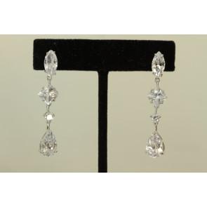 CZ Chandelier Earrings