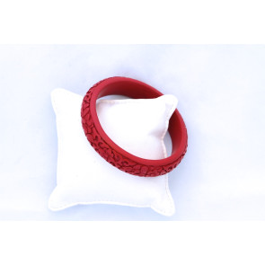 Vintage Chinese Cinnabar Bangle