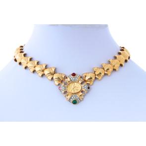 Vintage Medallion Necklace