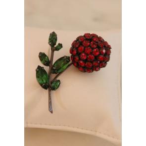Schreiner Vintage Cherry Pin