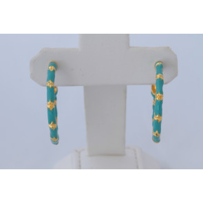 Kenneth Jay Lane Turquoise Earrings